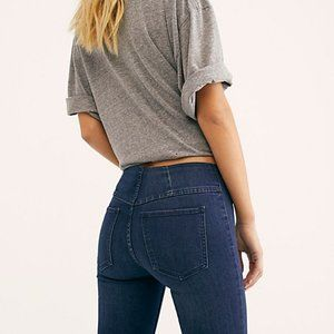 Penny Pull-On Flare Jeans - Current Season